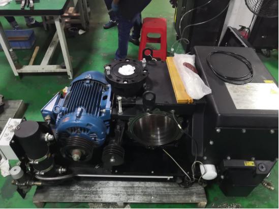 汽车散热器氦检真空泵